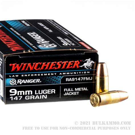 147gr 9mm Competition Ammo