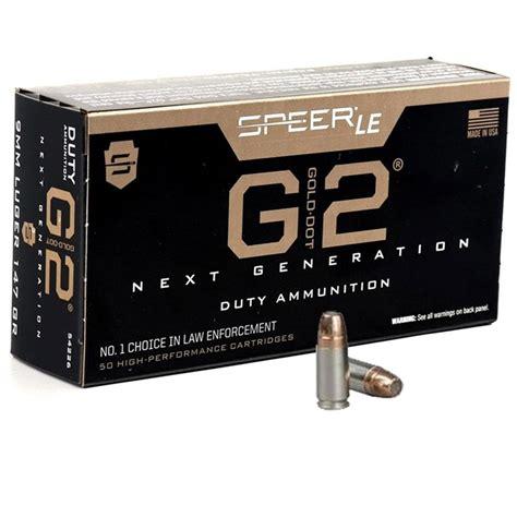 147gr Jhp 9mm Ammo By Speer