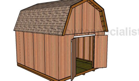 14x16-Barn-Shed-Plans