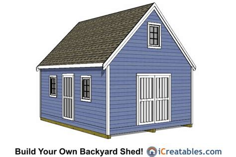 14x16-Shed-Plans-With-Porch