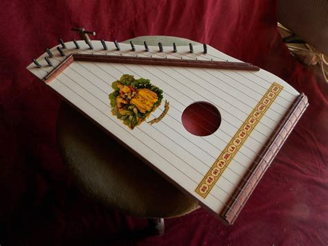 15 String Zither Pictures To Draw