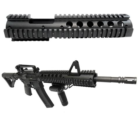 15 Inch Rail With A2 Cut For Ruger Ar 556