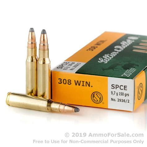 150gr Spce 308 Win Ammo