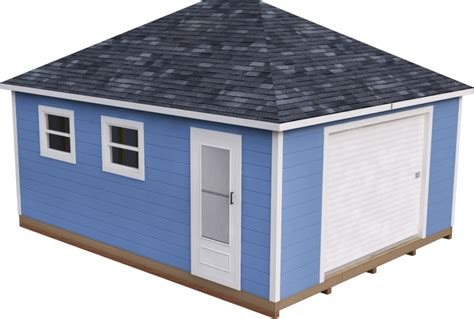 15x20 Storage Shed Plans