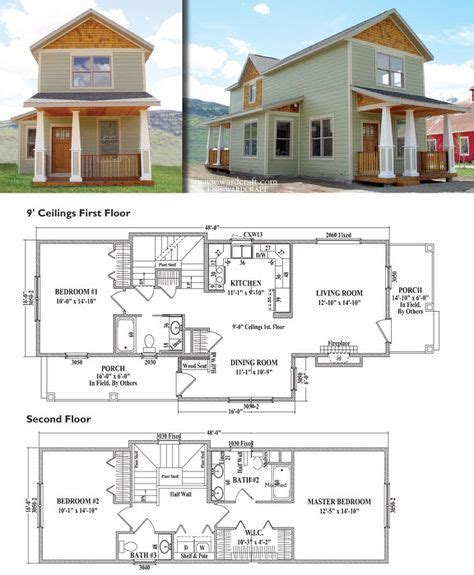 16 Ft Wide Home Plans