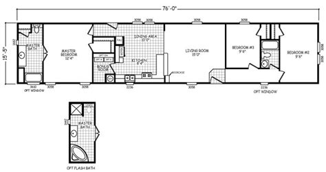 16 Wide Mobile Home Plans