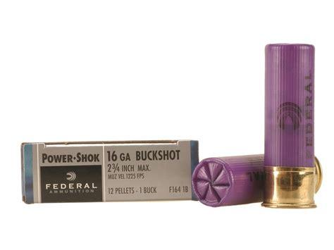16 Gauge Shotgun Shells 1 Buckshot