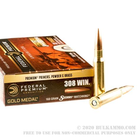 168 Grain 308 Bulk Ammo