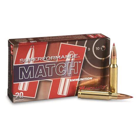 168gr 308 Hornady Eld Superformance 20box Match Winchester Ammo