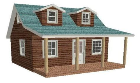 16x16 Shed Plans With A Loft