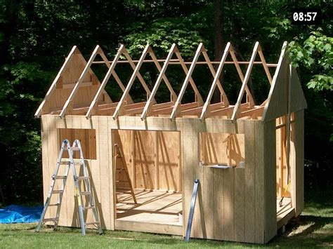 16x16 Storage Shed Plans Free