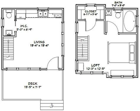 16x16-Cabin-Plans-With-Loft