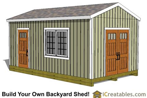16x16-Shed-Plans-With-Porch