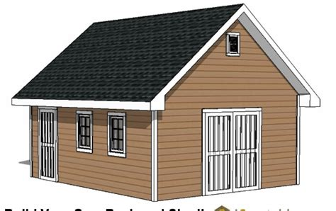 16x20-Shed-Plans-With-Loft