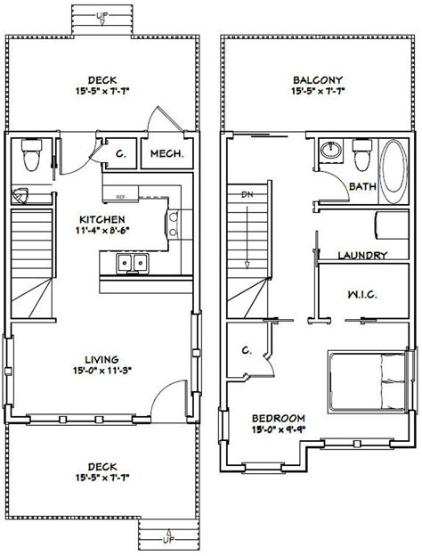 16x24 Home Plans