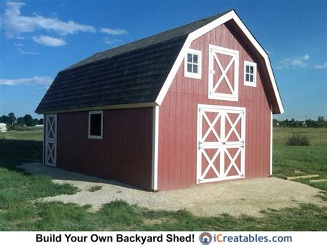 16x24-Gambrel-Barn-Plans