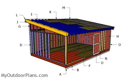 16x24-Lean-To-Shed-Plans