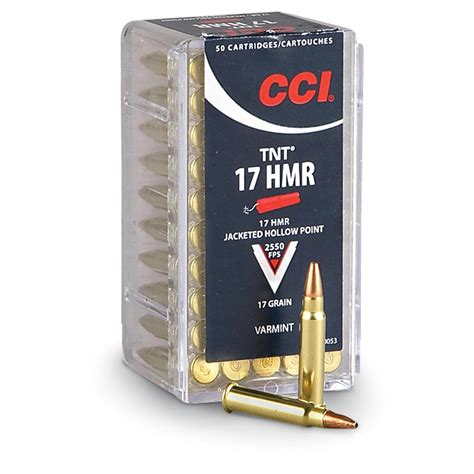 17 Caliber Ammo