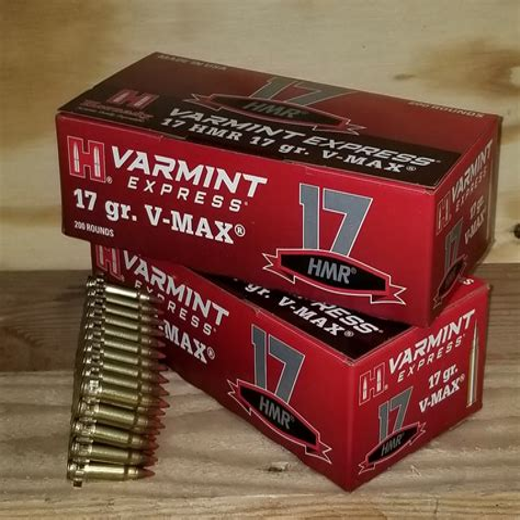 17 Hmr Varmint Ammo
