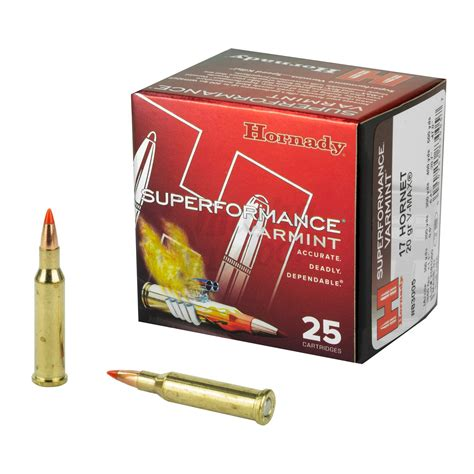 17 Hornady Hornet Ammo