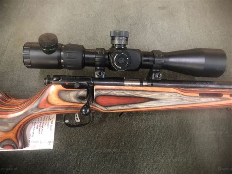 17 Savage Rifle For Sale And 25 10x40 Rifle Scope