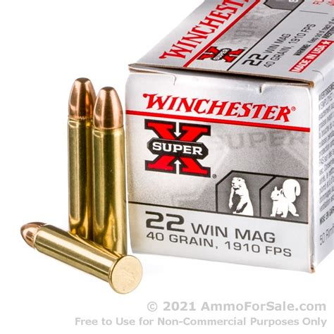 17 Winchester Magnum Ammo For Sale