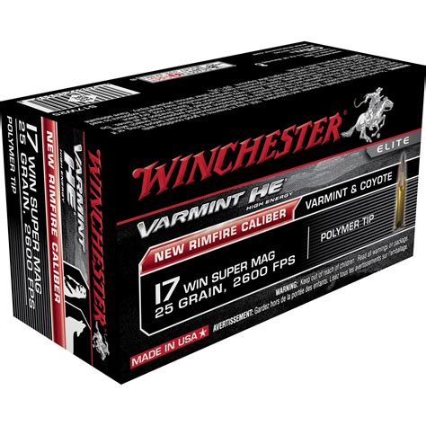 17 Wsm 25 Gr Ammo For Sale