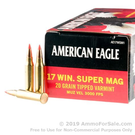 17 Wsmfor Ammo Sale