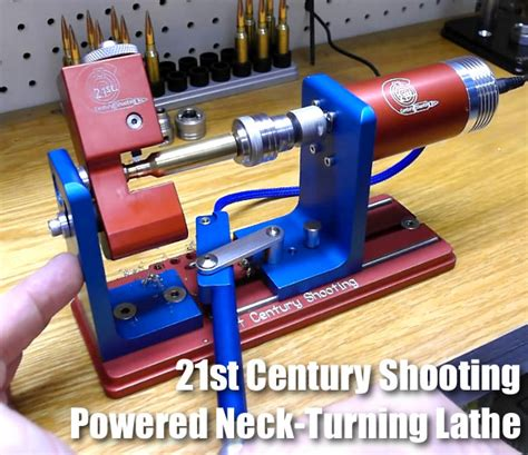 17-338 Cal Neck Turning Lathe - 21st Century Shooting.