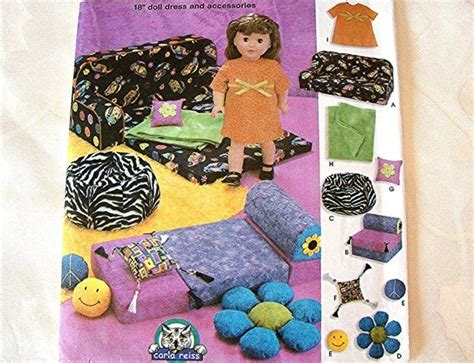 18 Doll Furniture Patterns
