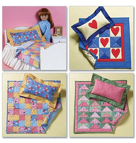 18 Inch Doll Bed Quilt Pattern