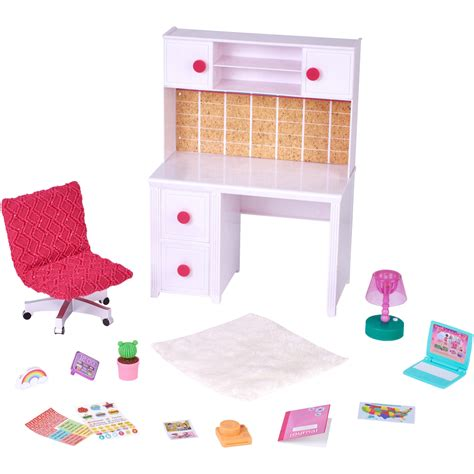 18 Inch Doll Desk Accessories