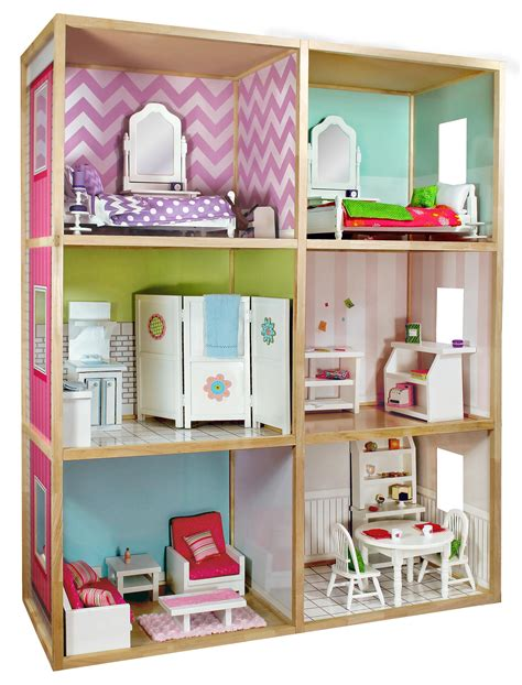 18 Inch Doll Dollhouse Plans And Designs