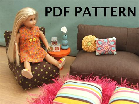 18 Inch Doll Furniture Patterns