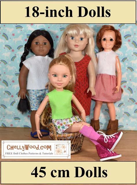 18 Inch Doll Wooden Wardrobe Patterns