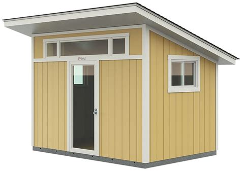 18 X 24 Shed Roof Studio Plans