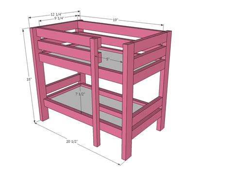18-Inch-Doll-Bed-Plans-Free