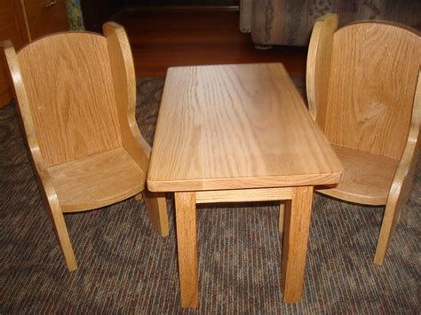 18 inch doll table and chairs Image