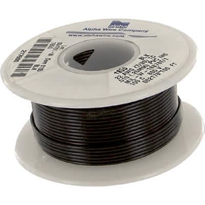 1855 BK005, 22 AWG Hook-Up Wire, Alpha Wire