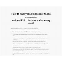 19 foods eight techniques to lose the flab on a raw vegan diet promotional codes