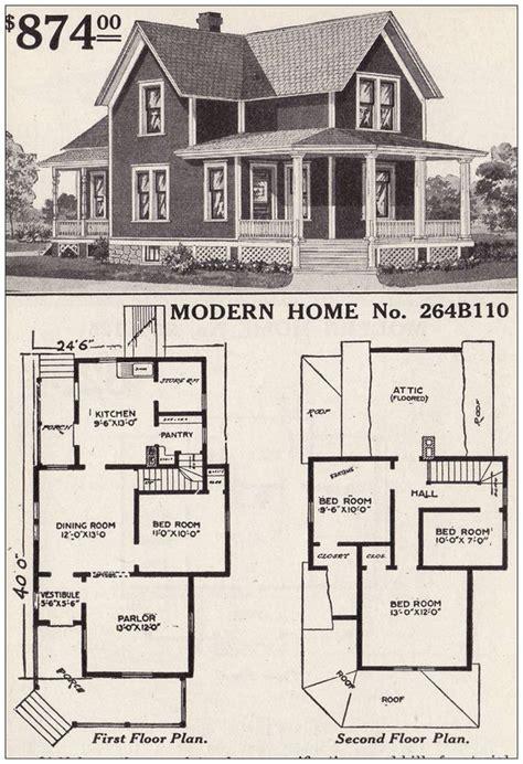 1900s-Farmhouse-Floor-Plans