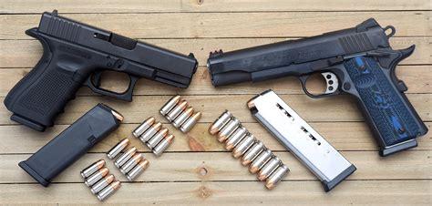 1911 45 Vs Glock 9mm
