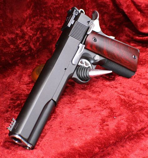 1911 Long Slide 6 5 Inch Threaded Barrel And 1911 Slide Weight Reduction