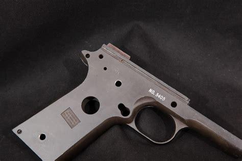 1911 Pistol Negitive Frame Molding And 80 Polymer 1911 Fram