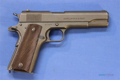 1911 Colt 45 Army Issue For Sale