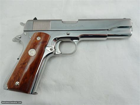 1911 Colt Stainless Silver