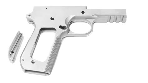 1911 Commander Frame With Rail