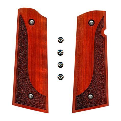 1911 Exotic Wood Grips Artisan Stock And Gunworks Inc