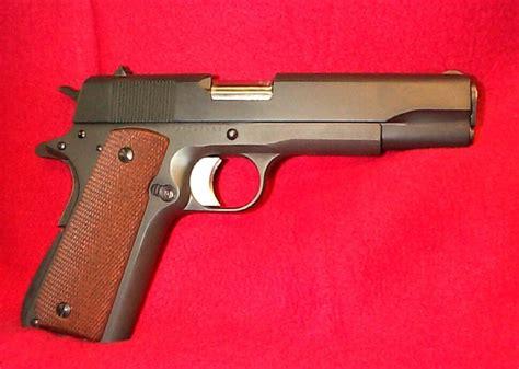 1911 Handgun Made In Phippenes 4 1 2 Inch Barrel