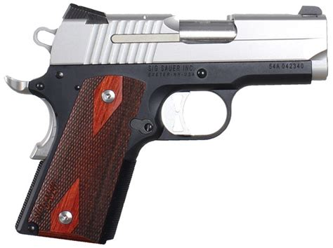 1911 Sig Sauer 9mm For Sale